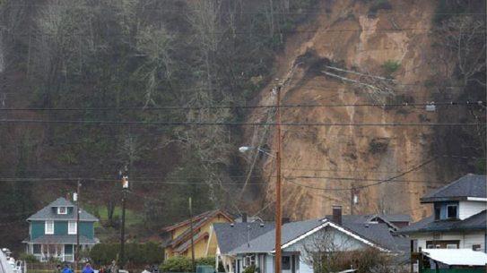 mudslide in Western Washington