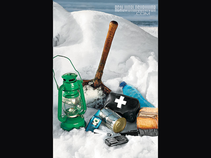 Emergency Kit winter driving safety precautions