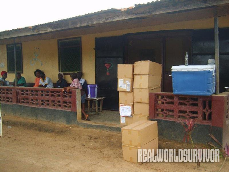 Direct Relief fighting ebola outbreak