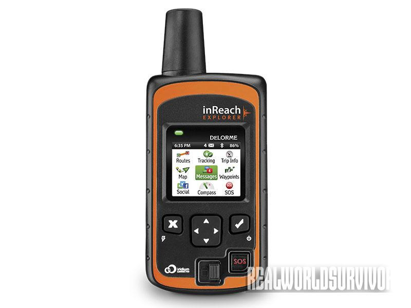 survival products, survival gear, survival tools, delorme inreach
