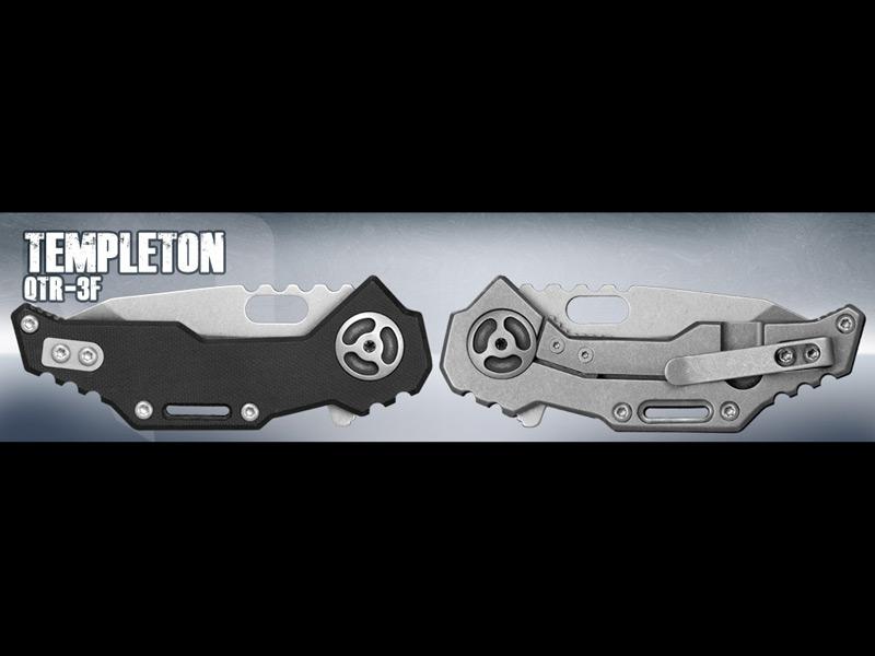 QTR-3f 'Templeton Peck' Knife , QTR-3f 'Templeton Peck'