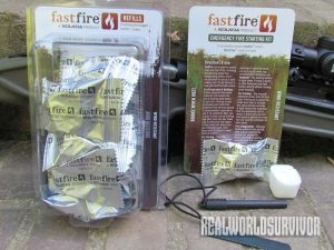 Solkoa, fastfire fire starting kit