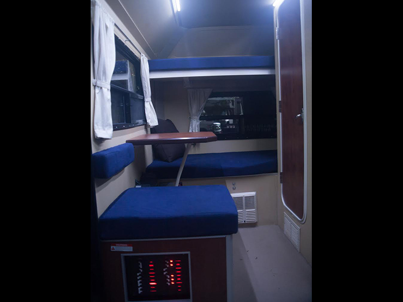 ADAK Adventure Trailers inside