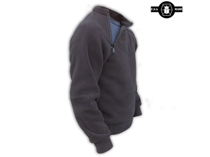 Kitanica 2-Zip Fleece grey