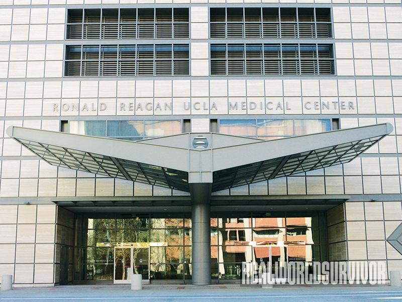UCLA Ronald Reagan Medical Center superbug bacteria