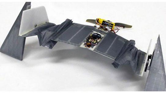 DALER drone deployable air-land exploration robot