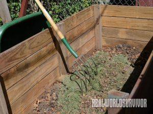 Balanced Compost Bin