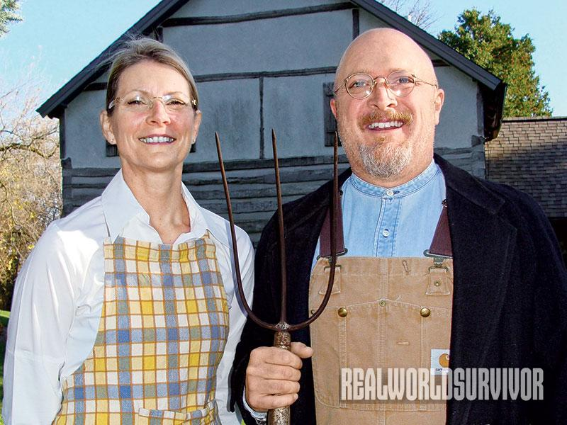American Gothic, newbie pionners rural living