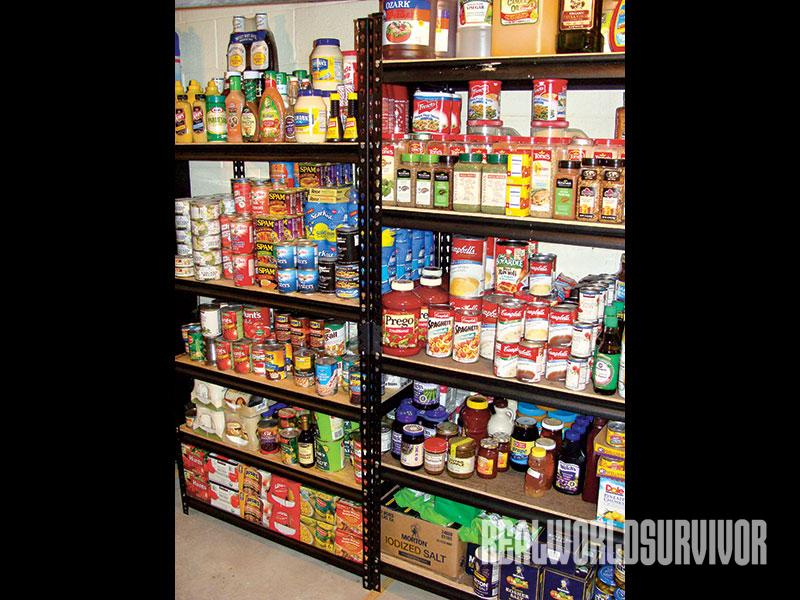 Food Pantry, emergency food storage