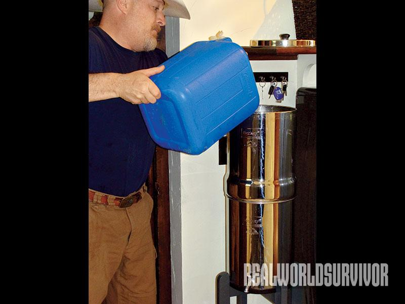 newbie pioneer water filtration backups