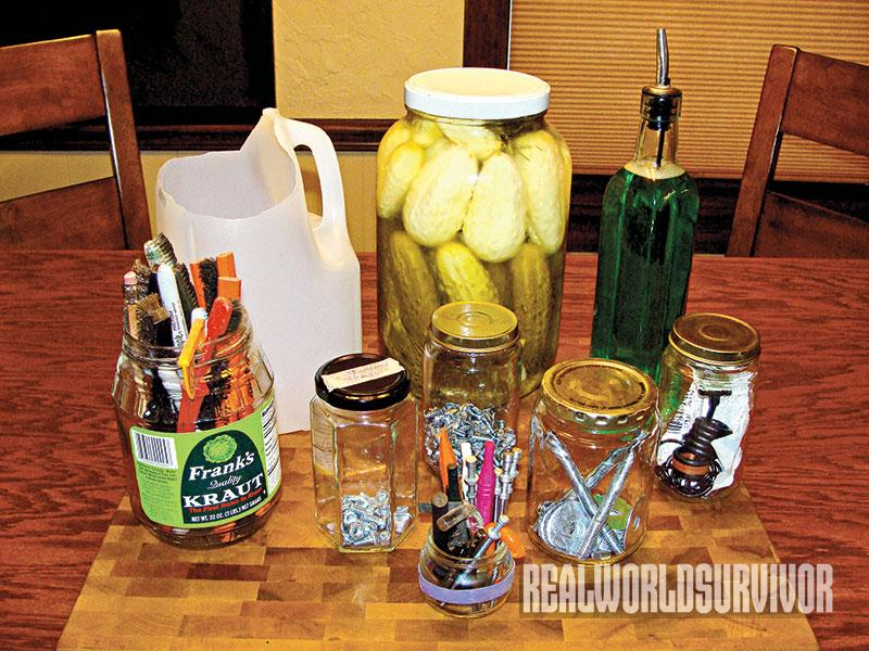 repurposing recycled goods