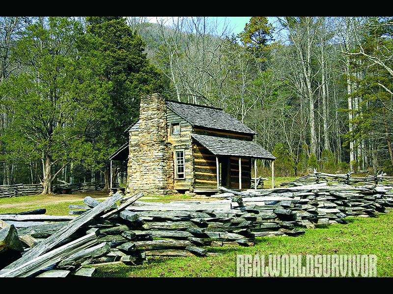 How to build your own dream cabin for Log cabin gunsmithing