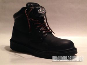 LED Boots Steel-Toe Workboot