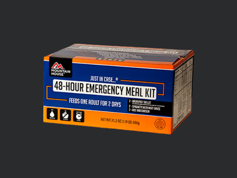 Mountain House 48-Hour Emergency Meal Kit, mountain house, 48-hour emergency meal kit