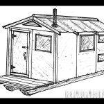 Trapper-Style Cabin