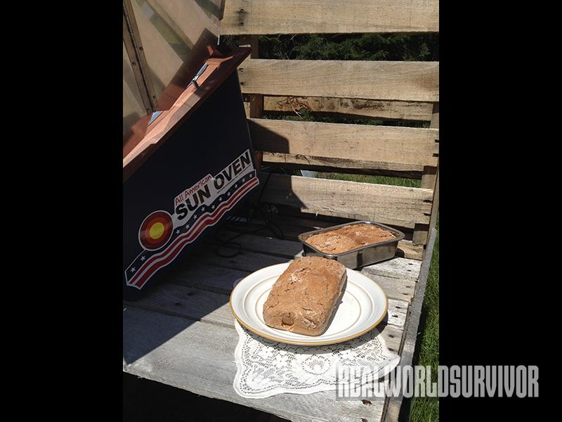 Bread From All American Sun Oven