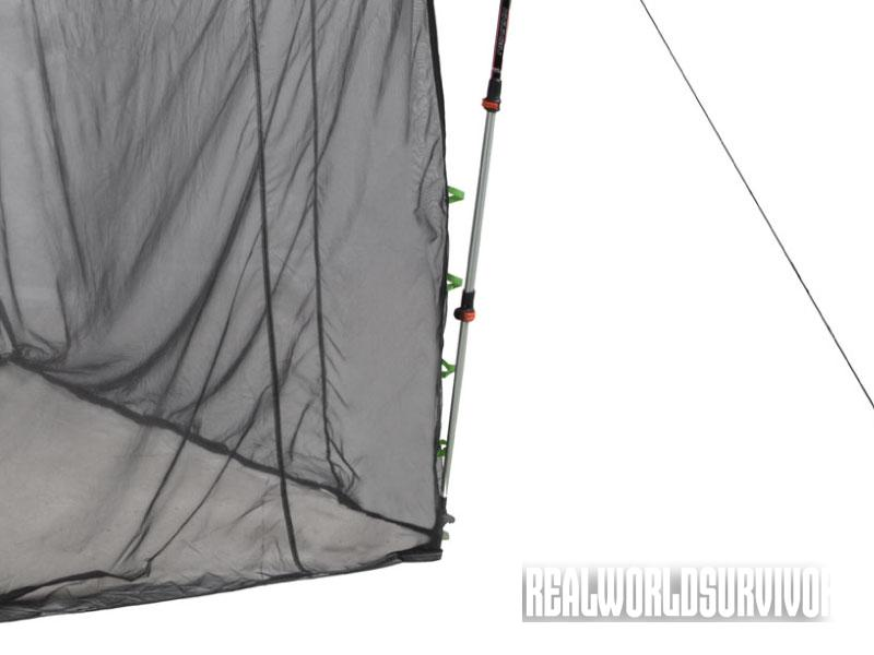 Mesh Walls, Bugout Tarp, Nemo Equipment, adjustable height