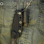TOPS Mini Scandi Survival knife chain