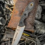TOPS Mini Scandi Survival knife