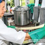 cheesemaking, soften curds