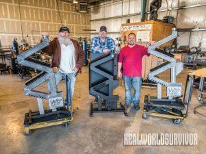 The WiseWay, Pellet Stove, Welding, the WiseWay Team