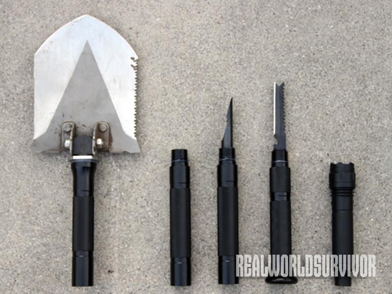 Urban Tactical Attachment Shovel attachments