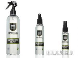 Breakthrough Clean Military-Grade Solvent
