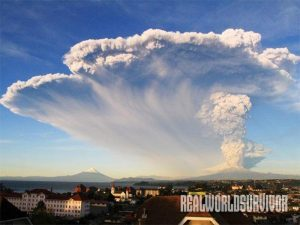 Chile Calbuco Volcano eruption 2015