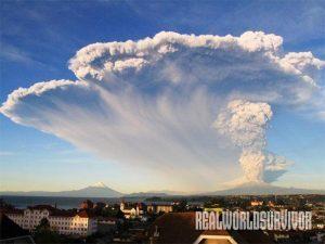 Chile Calbuco Volcano eruption 2015