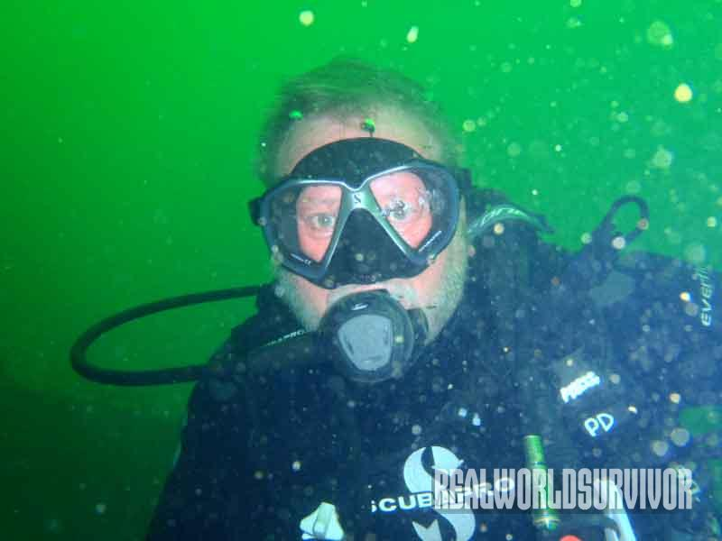 wreck, onderwater