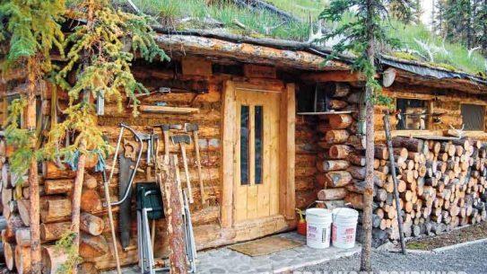 Log Building Process, Log cabin, finished cabin