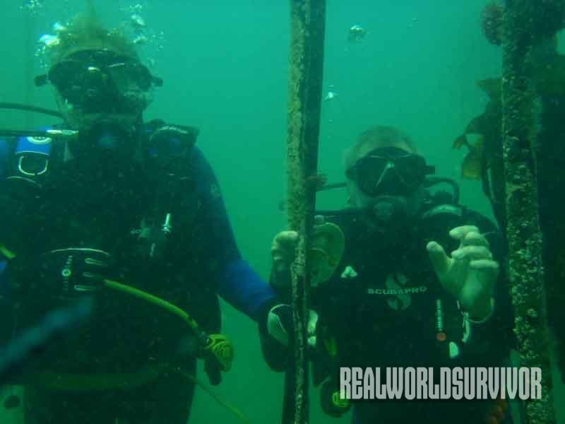 diving, shipwreck