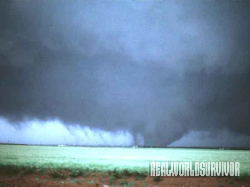 tornado, landscape, wind