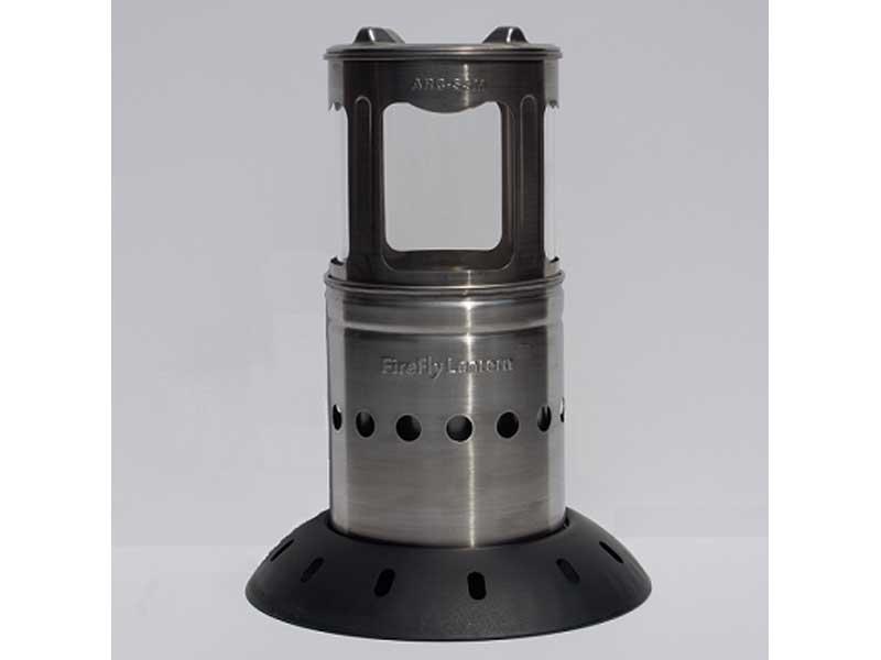 StoveTec FireFly Lantern, stovetec firefly, firefly lantern, firefly lantern profile