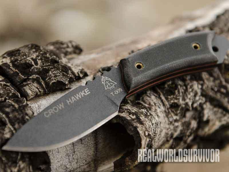 TOPS Crow Hawke, backup knives