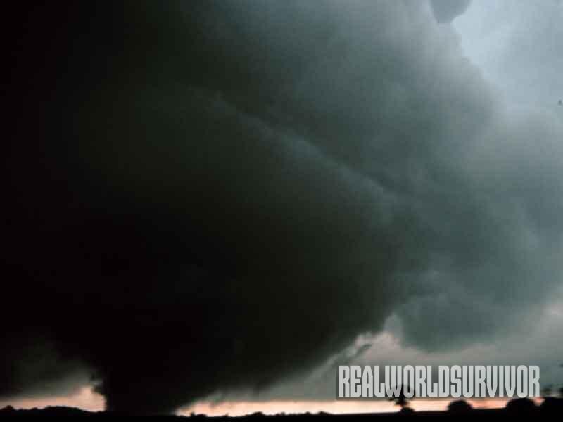 tornado, landscape