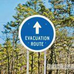 evacuation, wildfire