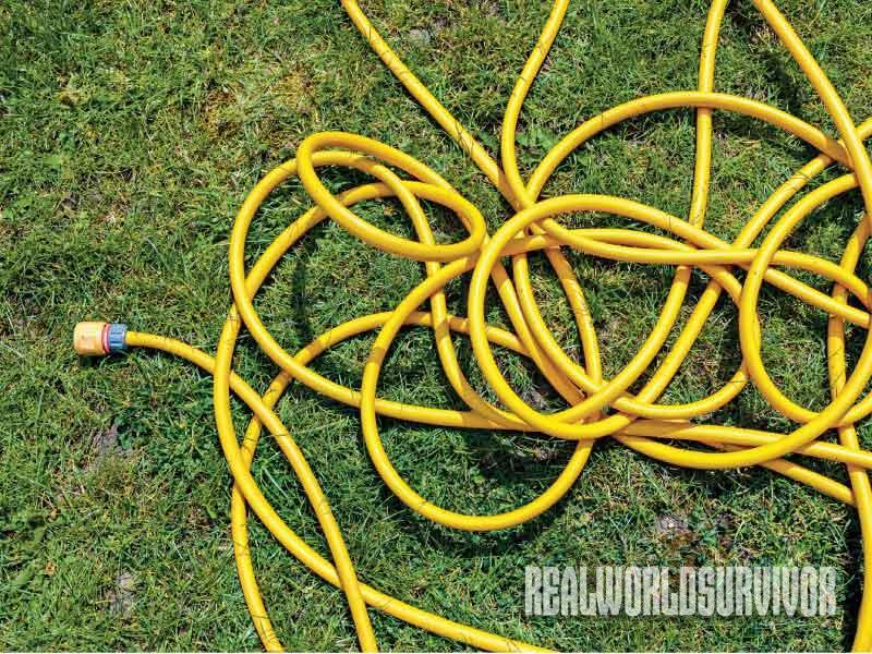 garden hose, wildfire