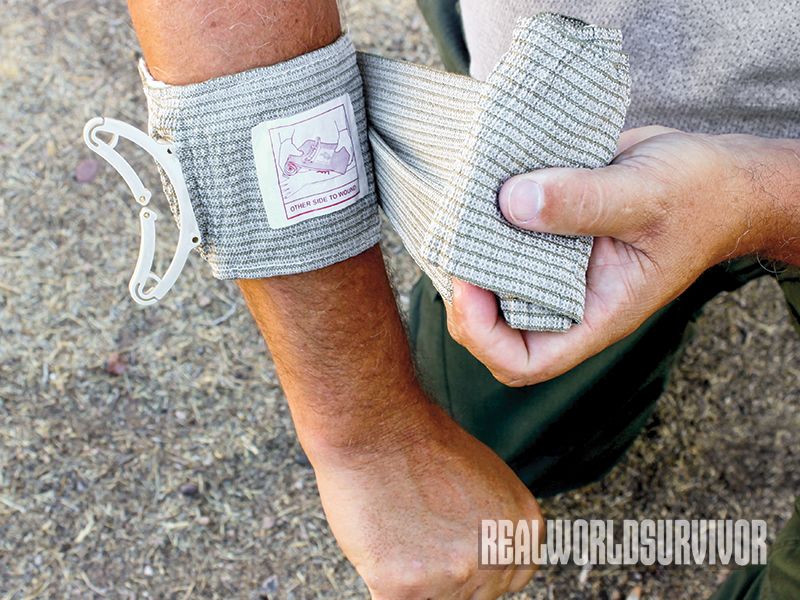 Blood Loss SEDGE Summer 2015 bandage