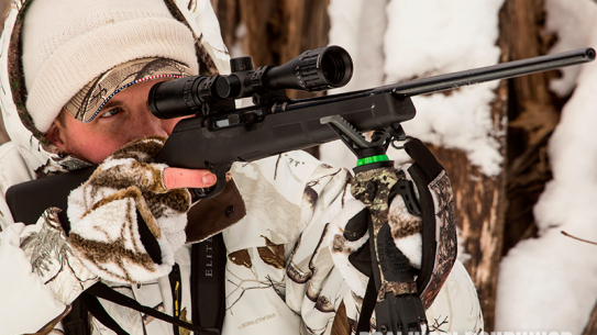 Savage Arms A17 Rimfire snow