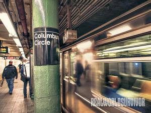 Subway survival accident Train