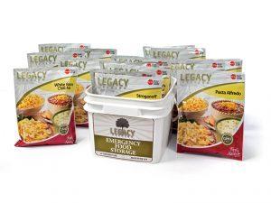disaster food, emergency meals, emergency meal, disaster meals, disaster foods, Legacy Premium 720-Serving Package