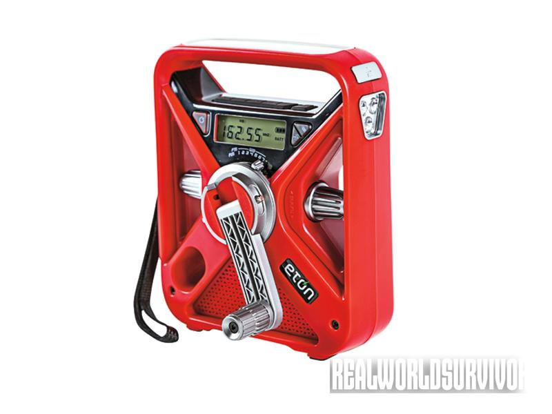 crank-powered, crank-powered devices, crank-powered lifesavers, Eton Radio FRX3 - American Red Cross