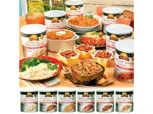 disaster food, emergency meals, emergency meal, disaster meals, disaster foods, Augason Farms Entree Assortment
