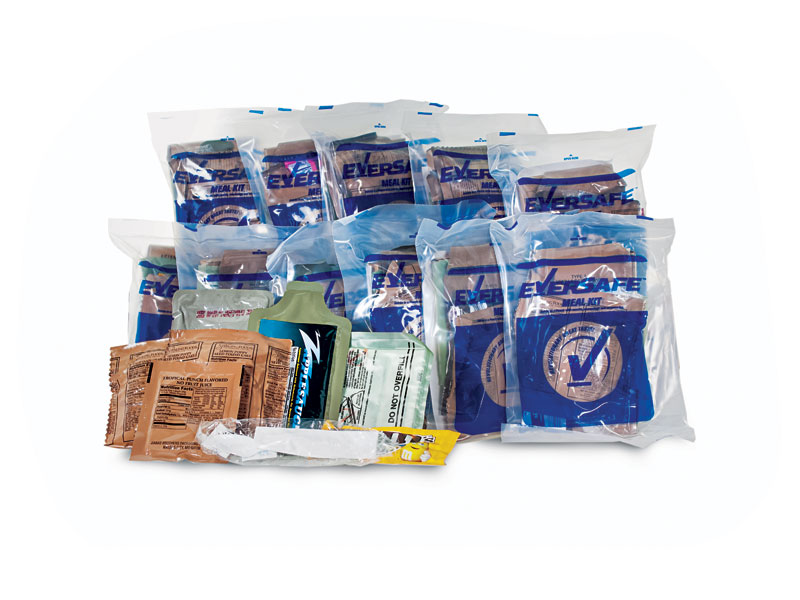 disaster food, emergency meals, emergency meal, disaster meals, disaster foods, Emergency Essentials Eversafe MRE Meals Kit