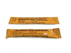 disaster food, emergency meals, emergency meal, disaster meals, disaster foods, MRE Beverage Base Drink Mix