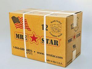 disaster food, emergency meals, emergency meal, disaster meals, disaster foods, 12 MRE Meal Kit (Vegetarian Case)