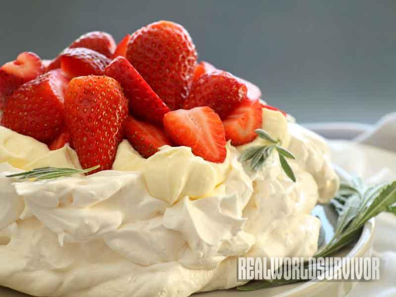 dessert, strawberry