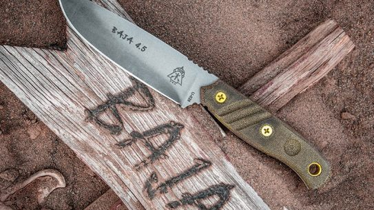 TOPS Knives Baja 4.5 knife lead