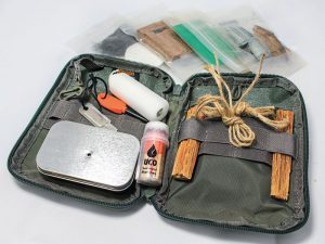 fire, fires, fire kit, fire kits, fire starter, fire starters, firestarter, fire starter kit, Creek's Bug-Out Guaranteed Fire Kit